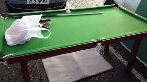 snooker table tennis table 6 ft deluxe snooker table tennis table in newry county down