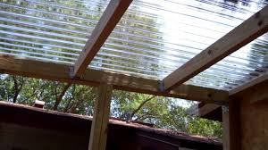 Clear Patio Roofing Materials by Durable And Simple Polycarbonate Roof Panels U2014 Creative Home