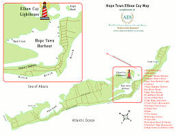 abaco resort map abaco estate services map of town cay abaco bahamas