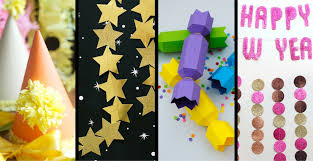 New Year Decorations 2015 by 14 New Year U0027s Decorations U0026 Paper Crafts The Paper Blog