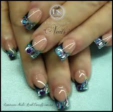 black and white leopard print nail designs anna charlotta