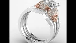 Skull Wedding Rings by Rose Gold Plated Skull Wedding Rings In Sterling Silver For Women