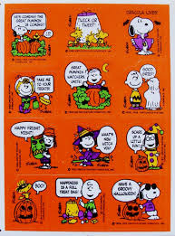 halloween stickers branded in the 80s