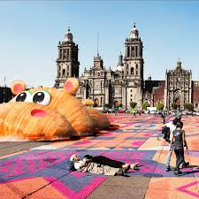 coloured zocalo 100architects