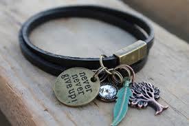 magnetic bracelet designs images Black double wrap inspirational magnetic bracelet kd designs jpg