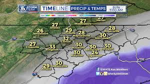 Eastern Tennessee Map by Some In East Tennessee Will See Snow Tonight Wate 6 On Your Side
