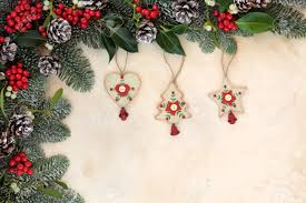 fashioned christmas tree fashioned christmas tree decorations with winter floral border