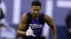 kevin johnson runs 4 52 in 40 yard dash at nfl scouting combine