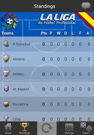 la liga table 2015 16 la liga live 2014 2015 1 0 10 apk download android sports games