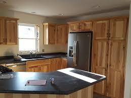 black kitchen appliances ideas kitchen design oak kitchen cabinets with ge slate refrigerator and