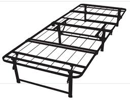 Metal Bed Frames Single Ultimate Portable Metal Bed Frame Absolute Comfort On Sale