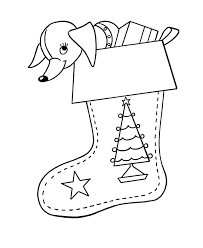 christmas stocking coloring pages bluebonkers christmas stockings coloring pages 2