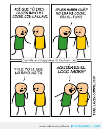 Memes En Espaã Ol - cyanide and happiness memes para facebook en español memeando