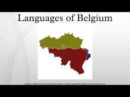 belgium language map languages of belgium