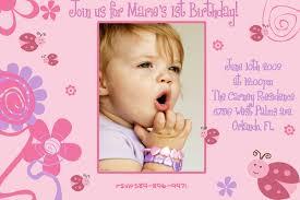 first birthday invitation wording images invitation design