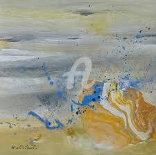 peinture de bord de mer bord de mer en hiver petits formats