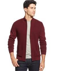 Burgundy Cardigan Mens Burgundy Zip Sweaters For Men Men U0027s Fashion