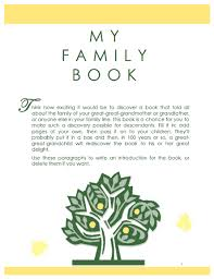 28 genealogy book template family history book templates bing