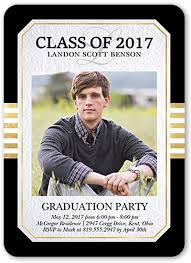 graduation invite classic edge 5x7 graduation invitations shutterfly