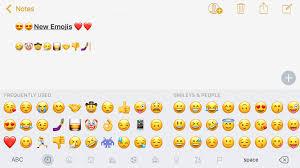 unicode 9 emoji updates here are the new emoji included in ios 10 2 gallery 9to5mac