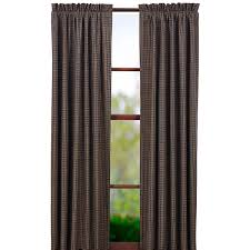 country drapes and curtains kettle grove plaid panel set