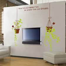 online get cheap flower pots mural aliexpress com alibaba group hot style flower pot fresh diy removable wall stickers new arrvied living room tv sofa