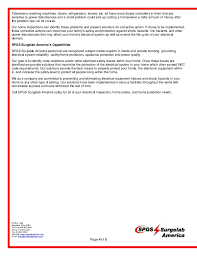 spgs surgelab america home electrical inspection service comparison