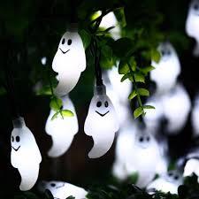 halloween ghost string lights halloween solar string lights 30 led 15 ft solar us shop