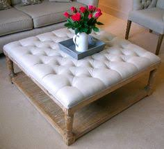 Diy Large Coffee Table by How To Make A Large Footstool Coffee Table Coffee Addicts