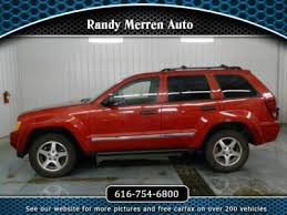 jeep grand website jeep grand for sale in newaygo mi cars com