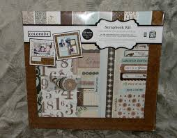 colorbok scrapbook colorbok scrapbook kit including album shabby chic nib ebay