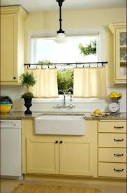 Yellow Kitchen With White Cabinets - pale yellow kitchen decor kitchens walls ideas with white cabinets