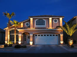 front of house lighting ideas house front lighting traditional landscape las vegas by