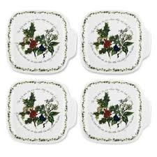 portmeirion the and the canape dishes set of 4