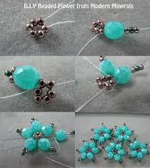 diy beaded flower bracelet images Beaded flowers can make these into a bracelet seed bead jpg