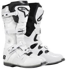 motocross boots alpinestars alpinestars tech 8 motocross boots motorcycle white alpinestars