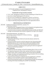 Brief Resume Example by Digital Marketing Resume Example Pertaining To How Write A Brief