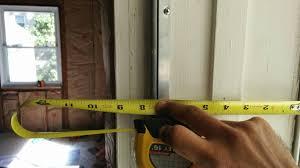 Exterior Door Jamb Exterior Door Jamb Construction Home Improvement Stack Exchange