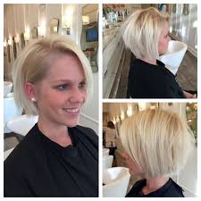 yolanda foster inspired look blonde cut bob messy look