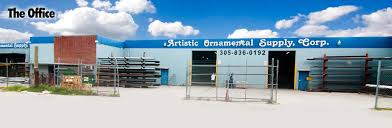 artistic ornamental supply corp 3062 nw 75th st miami fl metal