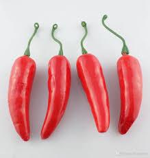 Chili Pepper Home Decor 2018 Garden Home Decor Supplies Artificial Plastic