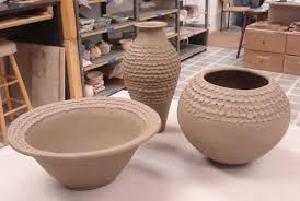 How To Decorate A Pot At Home How To Make A Coil Pot Step By Step Pot Construction Lesson