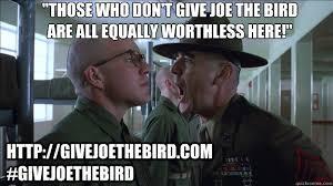 Full Metal Jacket Meme - full metal jacket give joe the bird memes quickmeme