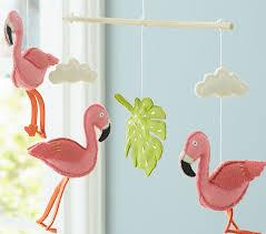 flamingo mobile pottery barn kids