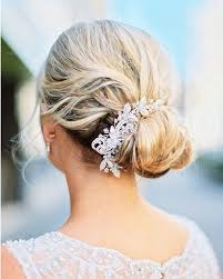 bridal hair bun 18 wedding ready buns knots and chignon updos for every type of