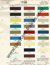 1970 ford mustang car paint colors urekem paints