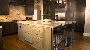 Kitchen Cabinets With Island Interior Design Elegant Kitchen Island With Chandelier And White