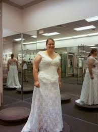 plus size fit and flare wedding dress the guide to plus size wedding dress shopping weddbook