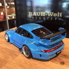 rwb porsche blue autoart 1 18 rwb 993 blue gun grey wheels 78152 u2013 yomacarmodel