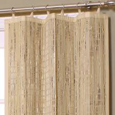 Bamboo Door Curtains Bamboo Curtain Panel Affordable Modern Home Decor Bamboo